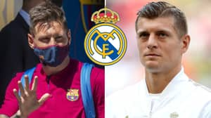 Toni Kroos' Brutal Response To Lionel Messi Making Shock Switch From Barcelona To Real Madrid
