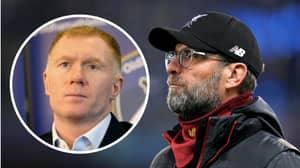 Paul Scholes Gives His Honest Assessment Of Liverpool's Premier League Campaign