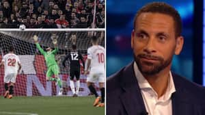 Watch: Rio Ferdinand's Reaction To De Gea's Wonder Save Is Everything