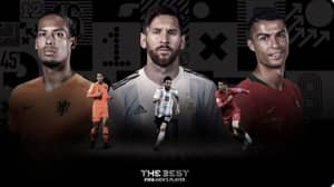 FIFA Announce Top Three For The Best Male Player Of The Year Award
