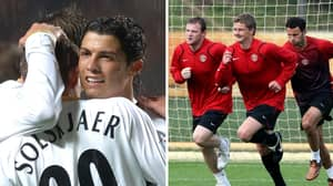 Ole Gunnar Solskjaer Reveals Exactly What He Taught Cristiano Ronaldo And Wayne Rooney