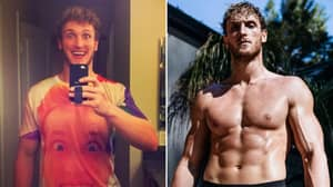 Logan Paul Has Undergone An Incredible Body Transformation Ahead Of Floyd Mayweather Super Fight