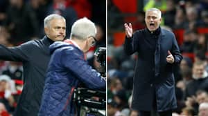 What Jose Mourinho Shouted At Tv Cameras Following Manchester United Comeback