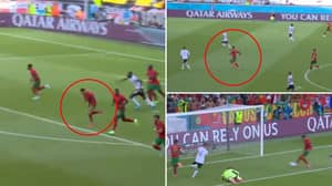 Cristiano Ronaldo Starts & Finishes Counter Attack With Superhuman Sprint From His Own Box