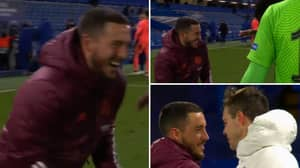 Eden Hazard's Reaction At Full-Time After Being Knocked Out Of The Champions League Has Got People Talking