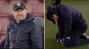 Ralph Hasenhuttl Sinks To His Knees And Breaks Down Into Tears After Southampton's 1-0 Win Over Liverpool