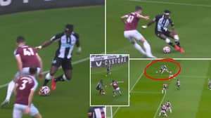 Allan Saint-Maximin Sent Declan Rice Back To Cobham With Outrageous Stepovers & Assist