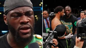 """Deontay Wilder Told Dominic Breazeale He """"Loved Him"""" After Brutal First-Round Knockout"""