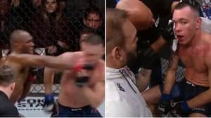 "Kamaru Usman Hit Colby Covington So Hard That He Told Corner ""I Think I Broke My Jaw"" At UFC 245"