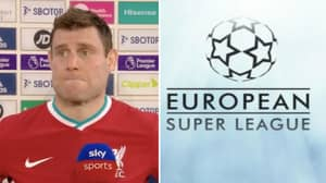 James Milner Says He Hopes European Super League Doesn't Happen In Brutally Honest Interview