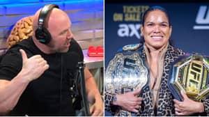 Dana White's Incredible Reaction To Amanda Nunes' UFC Retirement Claim