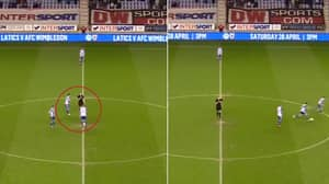 Wigan Athletic Try To Attempt The Cheekiest Kick-Off Ever, But Fail Miserably