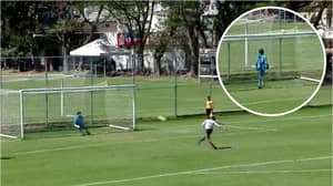 Chivas Under-17's Player Scored Luckiest Penalty In Football History At The Weekend