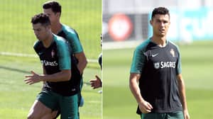 Cristiano Ronaldo Ruled Out Of Croatia Game Due To 'Infection Caused From Bee Sting'