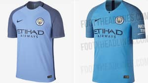 Manchester City's 2018/19 Home Kit Is Basically The Same As 2016/17's