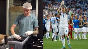 Iceland Player Went From Working In Salt Factory To Playing In World Cup