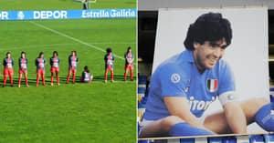 Footballer Paula Dapena Refuses To Observe Minute's Silence For 'Rapist' Diego Maradona