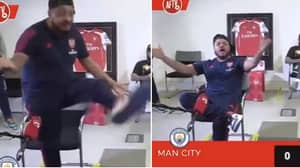 Troopz From Arsenal Fan TV Absolutely Loses His Head Over David Luiz's Defending Against Man City