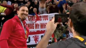 Remembering When Zlatan Posed With Infamous United Flag After Europa League Final