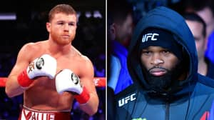 "Tyron Woodley Wants A Boxing Match With Canelo: ""If I Land, He's Going Down"""