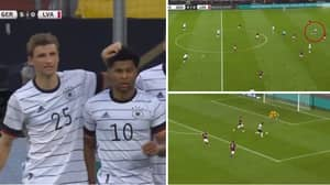 Mats Hummels Produced A Stunning Outside Of The Boot Assist From His Own Half For Serge Gnabry