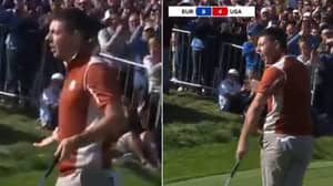 "Rory McIlroy Shouts At The American Fans And Asks: ""Who Can't Putt?"""