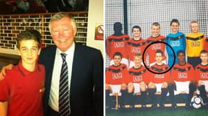 The Kid Who Signed For Man Utd After Scouts Watched DVD Of His Skills