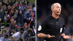"""Mike Dean Admits To Singing """"The Referee's A W***er"""" While Watching Tranmere"""