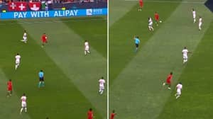 Cristiano Ronaldo Produced The Most Outrageous No-Look Through Ball For Portugal