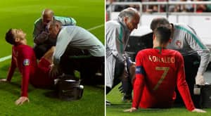 Cristiano Ronaldo Forced Off With Injury During Portugal's Euro 2020 Qualifier