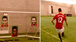 Remembering When Chris Smalling Attempted To Hit Juan Mata's Target