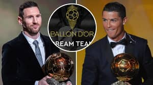 Full List Of 110 Nominees For France Football's 'Ballon d'Or Dream Team' Have Been Revealed