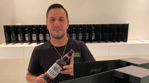 Diego Alves Got A Lot Of Beer From The Lionel Messi Budweiser Promotion