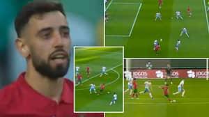 Bruno Fernandes' Sensational Highlights vs Israel Prove He's Going To Be Euro 2020's Top Midfielder