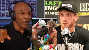 Logan Paul Finally Responds To Mike Tyson Over His Fight Prediction After Floyd Mayweather Bout