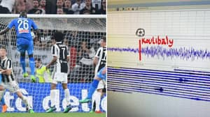 Kalidou Koulibaly's Last-Gasp Goal Caused 'Significant Ground Movement
