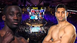 Amir Khan To Fight Welterweight World Champion Terence Crawford On April 20th