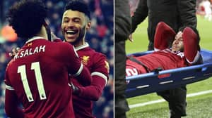 Mohamed Salah Sends Beautiful Message To Oxlade-Chamberlain After He's Ruled Out Of World Cup