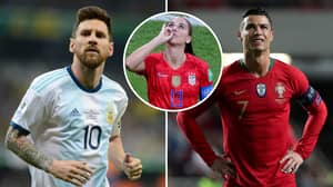 Alex Morgan Was Asked To Choose Between Lionel Messi And Cristiano Ronaldo In 2015