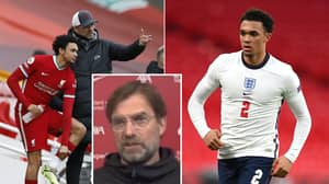 Jurgen Klopp Shocked By Trent Alexander-Arnold's Omission From England Squad