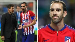 Simeone Makes Genius Decision To Play Injured Godín Up Front, He Scores The Winner