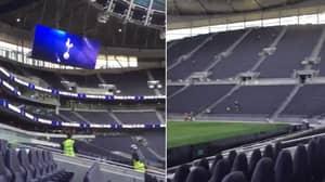 Spurs' Kop End In Their New Stadium Looks Incredible