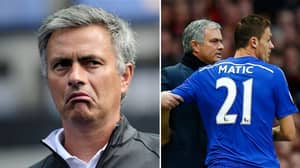 Jose Mourinho's 2015 Comment About Nemanja Matic Goes Viral Amid Agreed Deal