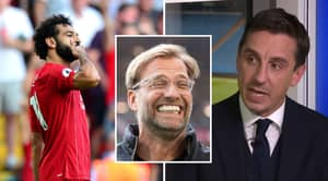 Gary Neville Perfectly Sums Up How Watching Liverpool Feels As A Man United Fan