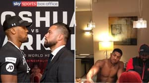 Anthony Joshua's Diet A Week Before His Big Fight Is Ridiculous