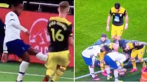 Shane Long Says 'F**k Me, You Can See His F****** Bone' After Ward-Prowse Knee Injury