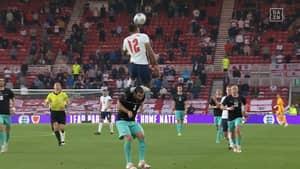 England Fans Blown Away By 'Higher Than Ronaldo' Leap From Dominic Calvert-Lewin