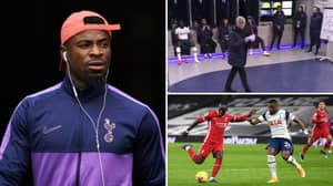 Serge Aurier Reportedly Left Stadium At Half Time After Substitution