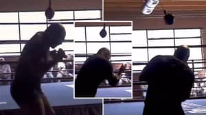Mike Tyson Shows Off Frightening Hand Speed And Head Movement At 54-Years-Old
