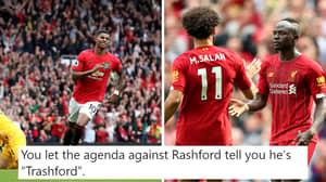 Fan's Tweet Comparing Rashford's Stats This Season To Salah And Mane Goes Viral